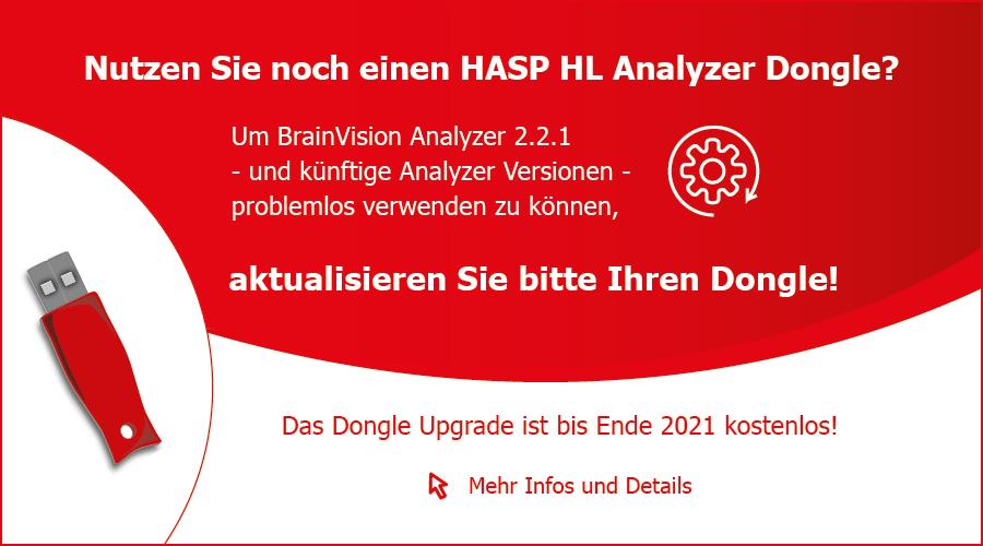 Analyzer Dongle Upgrade